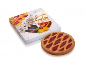 Венский пирог  алыча-вишня