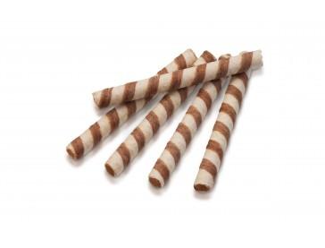 Вафельные трубочки вкус крем-брюле
