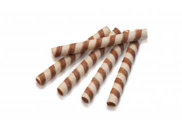 Вафельные трубочки со вкусом тоффи