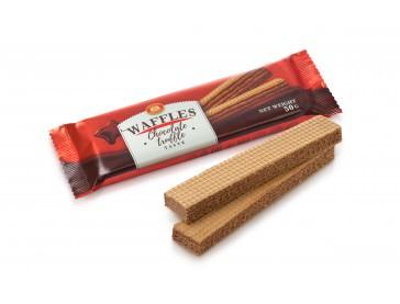 Вафли Вкус шоколадный трюфель