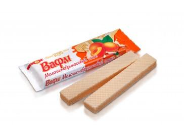 Вафли Молочно-абрикосовый вкус